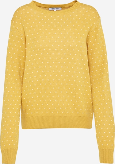 ABOUT YOU Pull-over 'Leena Jumper' en jaune / curry, Vue avec produit