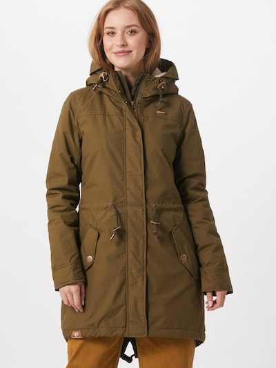 Ragwear Parka zimowa 'Elba' w kolorze oliwkowym, Podgląd na modelu(-ce)