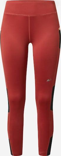 COLUMBIA Sporthosen 'Titan Ultra' in rostrot / schwarz, Produktansicht