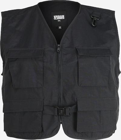 Urban Classics Curvy Vest 'Tactical' must, Tootevaade