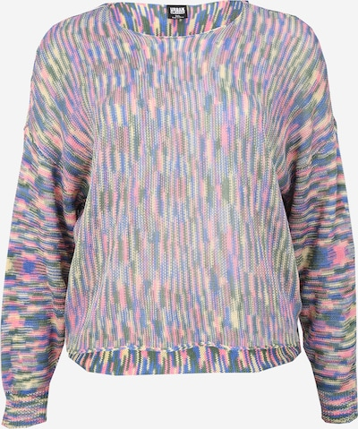 Urban Classics Curvy Sweter w kolorze niebieski / różowym, Podgląd produktu