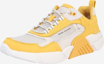 Mark Nason Sneaker 'BLOCK WEST' in gelb / weiß, Produktansicht