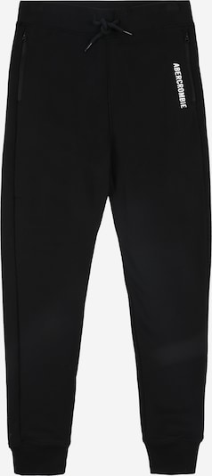 Pantaloni Abercrombie & Fitch pe negru, Vizualizare produs