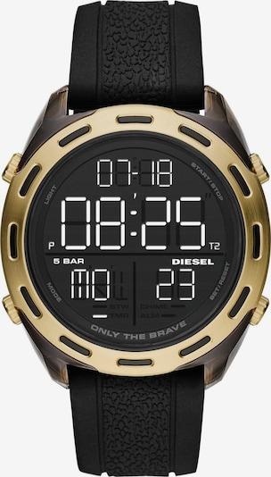 DIESEL Uhr 'Crusher, DZ1901' in gold / schwarz, Produktansicht