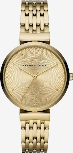 ARMANI EXCHANGE Analoguhr in gold, Produktansicht