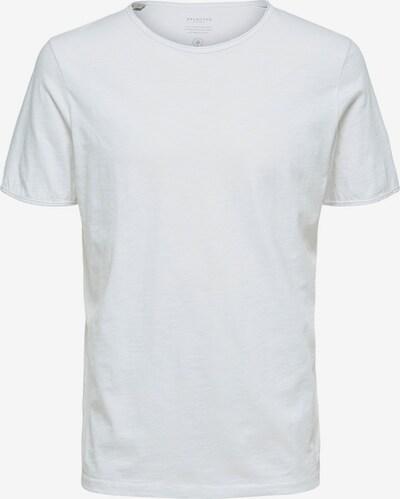 fehér SELECTED HOMME Póló 'MORGAN', Termék nézet