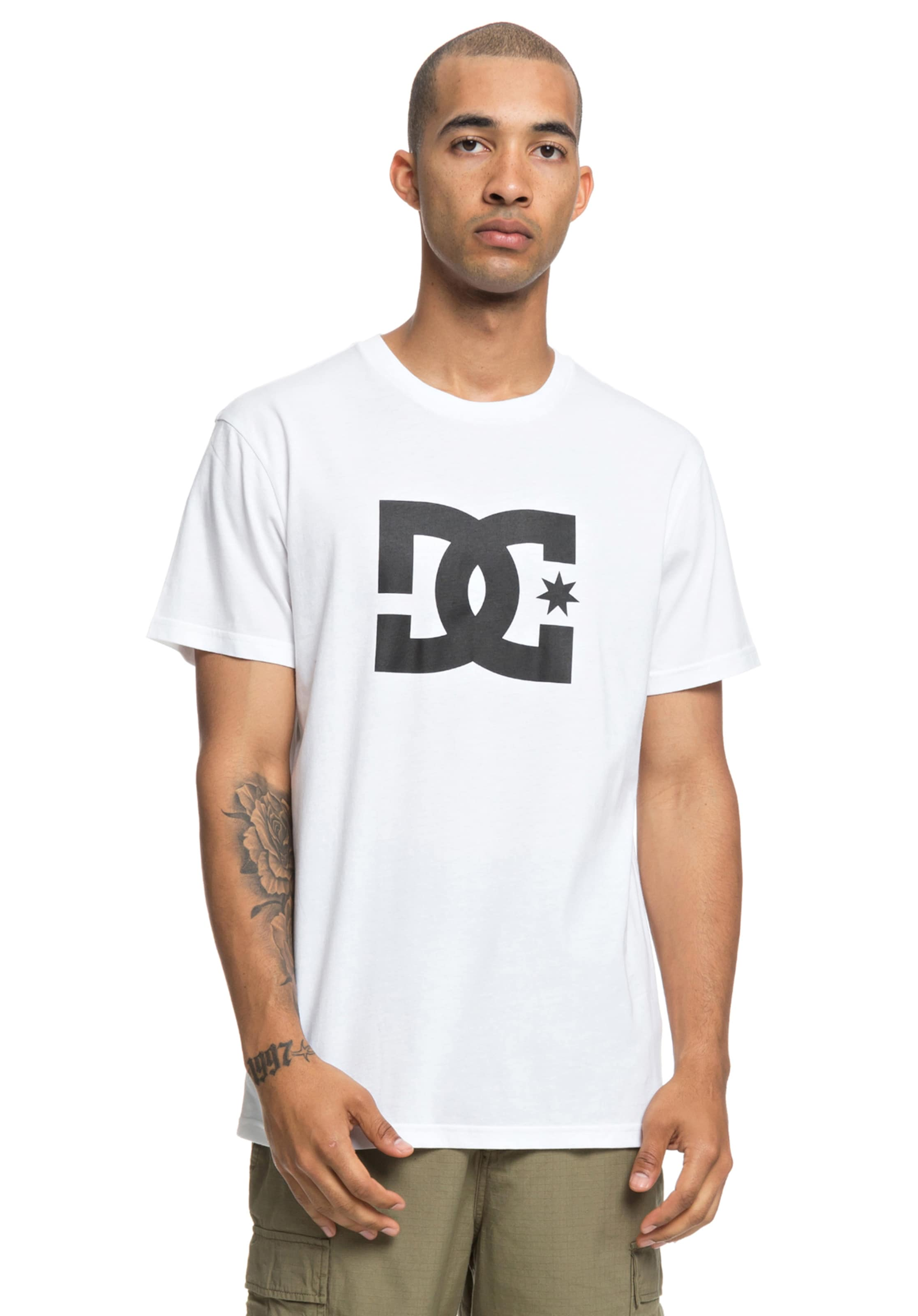 T In Shoes Dc Star Weiß shirt eH2EYWD9I