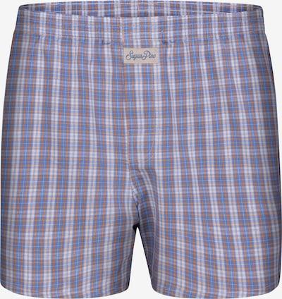 Sugar Pine Boxershorts ' Classic Check ' in hellblau, Produktansicht