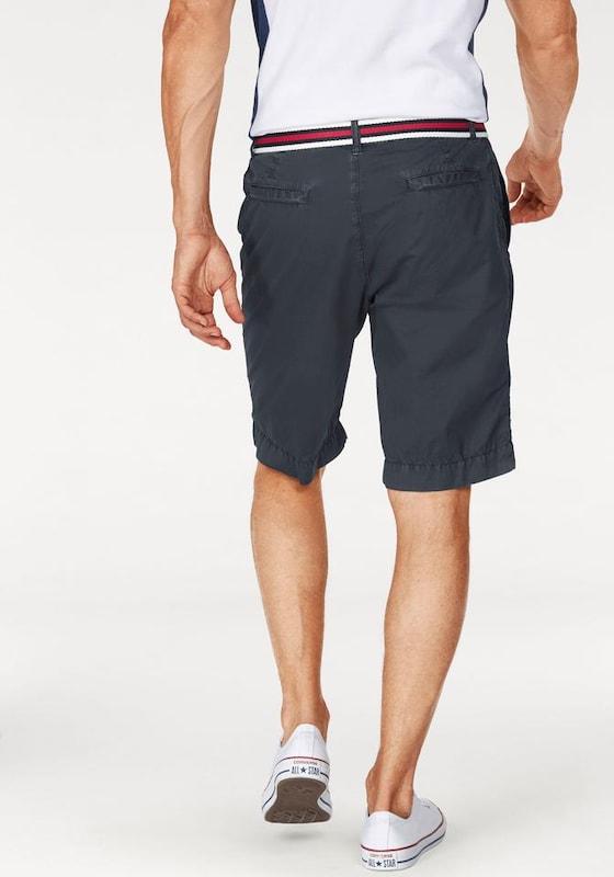 Tom Tailor Polo Team Shorts (Set, mit Gürtel)