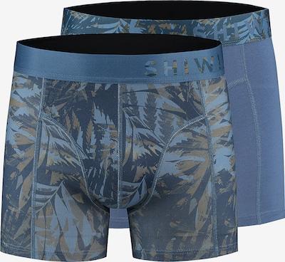 Shiwi Trunks 'Camouflage' in blau, Produktansicht