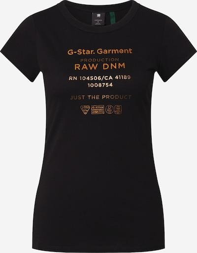 G-Star RAW Shirt in de kleur Koper / Zwart, Productweergave
