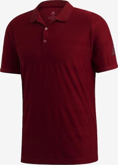 ADIDAS PERFORMANCE Functioneel shirt 'MatchCode' in de kleur Basaltgrijs / Bourgogne, Productweergave