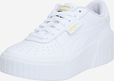 PUMA Låg sneaker 'Cali' i guld / vit, Produktvy