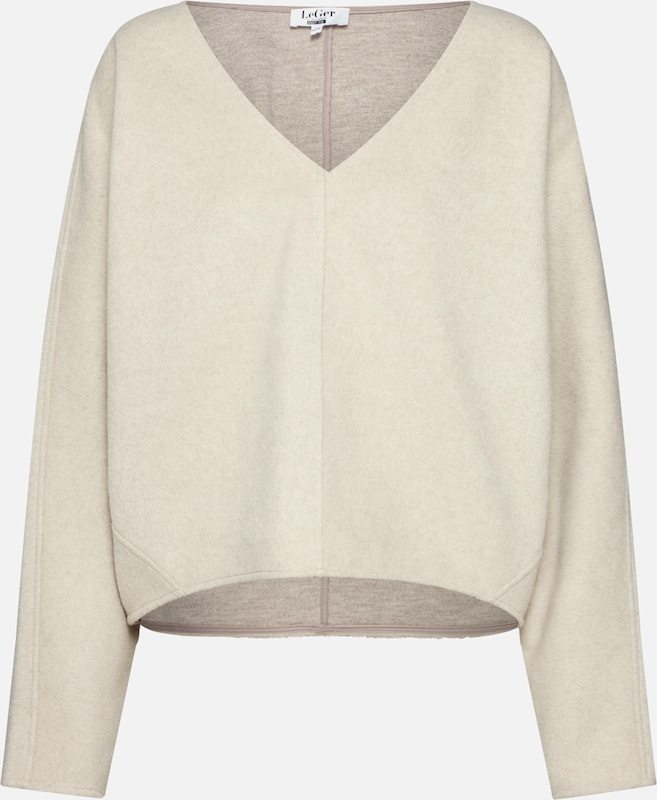 LeGer by Lena Gercke Pullover 'Antonia' in beige: Frontalansicht
