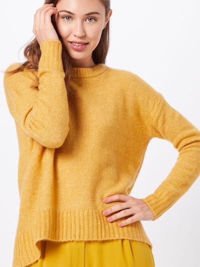 VERO MODA Sweter 'KIZZI' w kolorze złoty żółtym: Widok z przodu