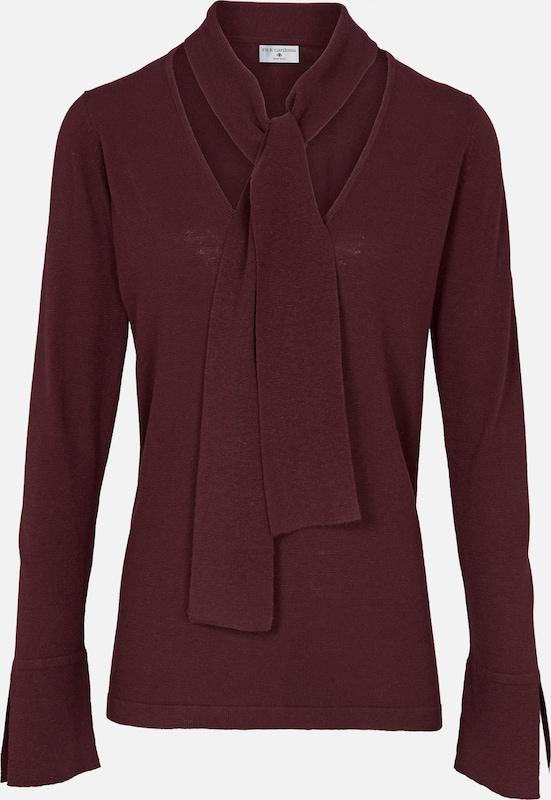 Heine Pullover Pullover Pullover in bordeaux  Markenkleidung für Männer und Frauen 504b74
