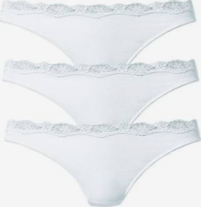 LASCANA String en blanc, Vue avec produit
