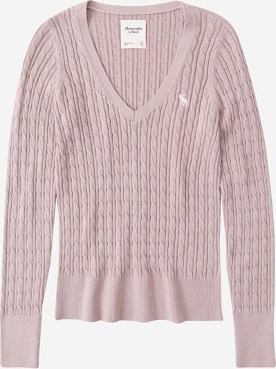 Abercrombie & Fitch Sweter 'Icon Cable' w kolorze różowy pudrowym, Podgląd produktu