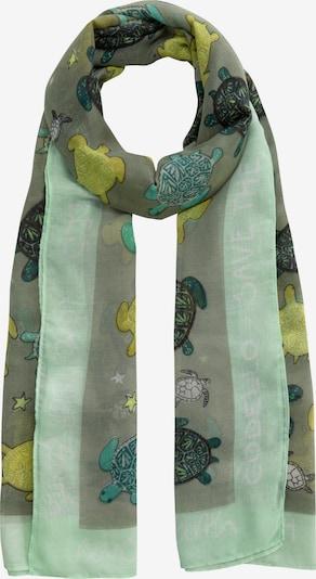 CODELLO Schal in oliv / pastellgrün, Produktansicht
