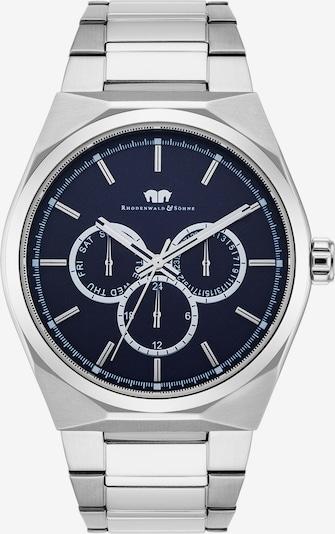 Rhodenwald & Söhne Uhr 'Cooledge' in blau / silber, Produktansicht