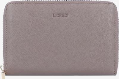 L.CREDI Geldbörse 'Margarete' in taupe, Produktansicht