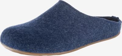 HAFLINGER Pantoffeln 'Everest Fundus' in blau, Produktansicht
