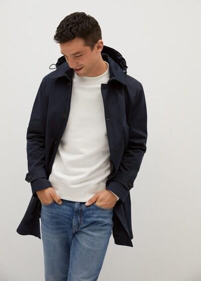 MANGO MAN Přechodný kabát 'Chayton' - námořnická modř, Model/ka