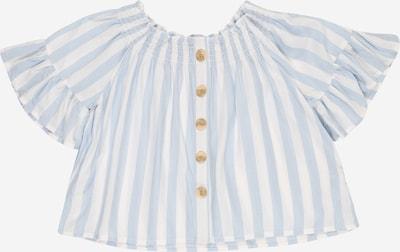BLUE SEVEN Blouse in de kleur Lichtblauw / Wit, Productweergave