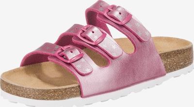 LICO Pantolette 'Bioline Star' in pink / silber, Produktansicht