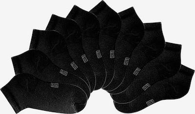 H.I.S Chaussons en noir, Vue avec produit