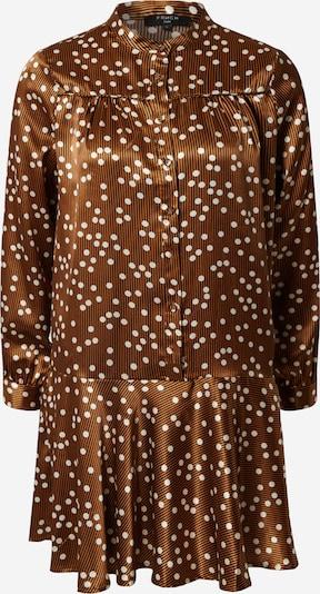 FRNCH PARIS Kleid 'Adra' in nachtblau / hellbraun / weiß, Produktansicht