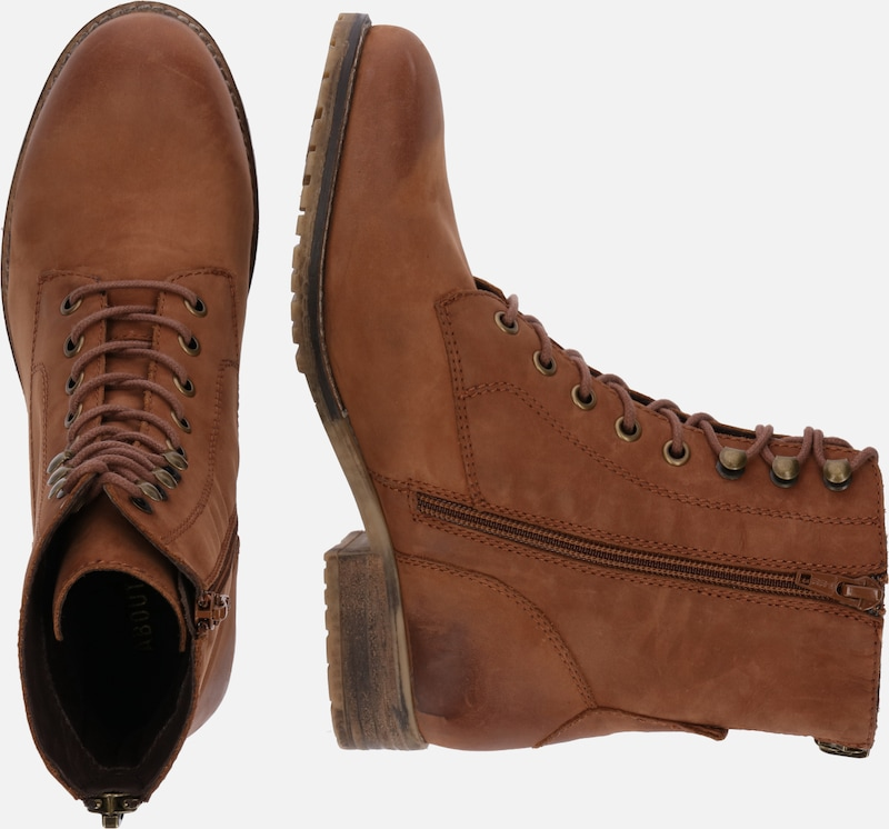 À En Lacets Bottines 'loreena' Cognac hQdtrCxs