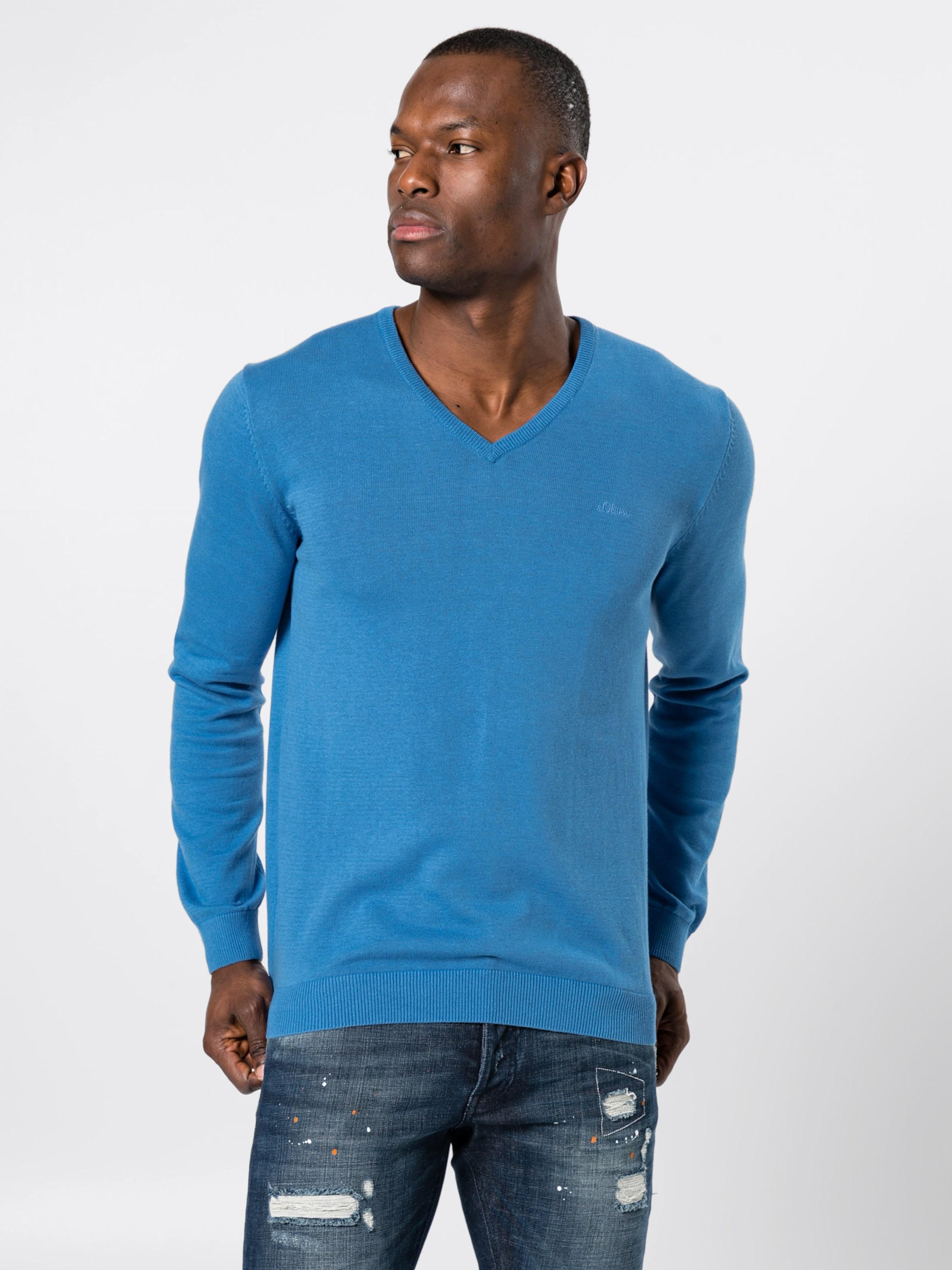 Pullover In S Pullover oliver oliver S Blau Blau In uFc3JT1lK
