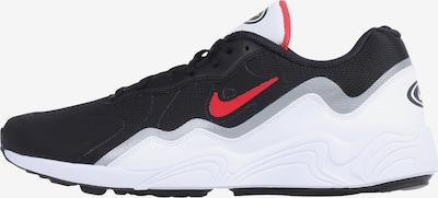 NIKE Sportschoen 'Alpha Lite' in de kleur Rood / Zwart / Zilver / Wit, Productweergave