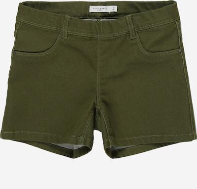 NAME IT Broek 'NKFSALLI TWIBATINNA SHORTS' in de kleur Groen, Productweergave