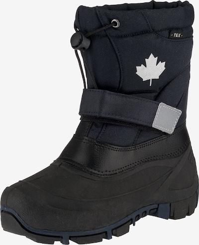 CANADIANS BY INDIGO Winterstiefel in nachtblau / schwarz, Produktansicht