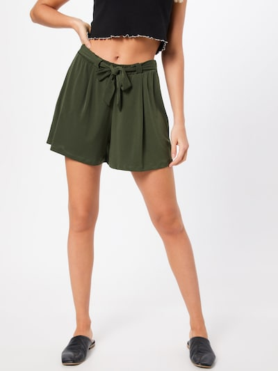 ABOUT YOU Shorts 'Vivien' in khaki, Modelansicht
