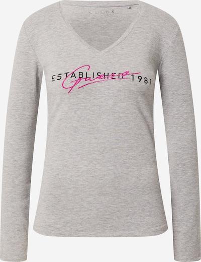 GUESS Shirt 'Carol' in grau / pink, Produktansicht