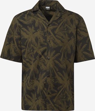Urban Classics Hemd in oliv / schwarz, Produktansicht