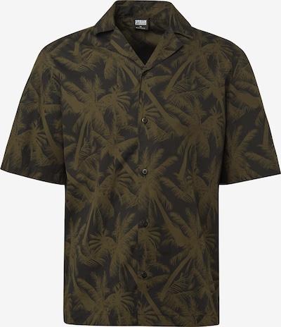 Dalykiniai marškiniai iš Urban Classics , spalva - alyvuogių spalva / juoda, Prekių apžvalga