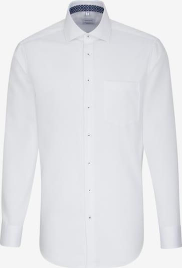 SEIDENSTICKER Hemd in weiß: Frontalansicht