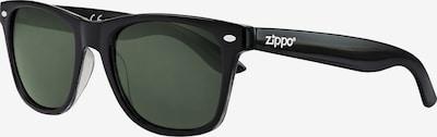 ZIPPO Sonnenbrille 'Green Flash' in schwarz, Produktansicht