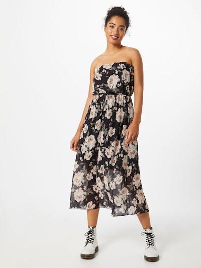 Hailys Kleid 'Kelly' in schwarz / weiß, Modelansicht