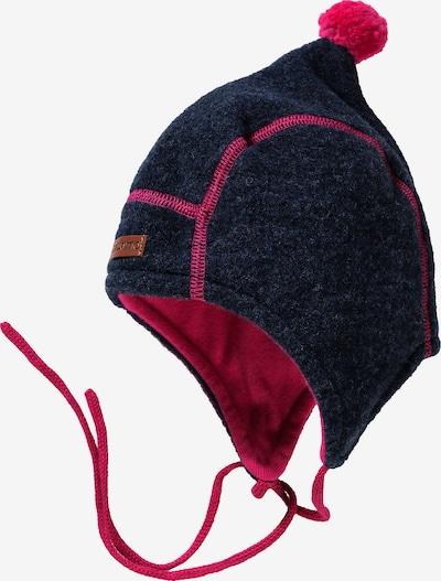 MAXIMO Mütze in navy / pink, Produktansicht