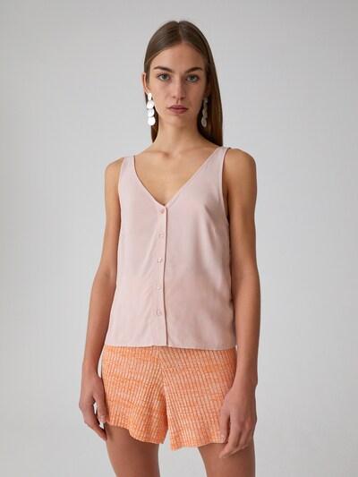 EDITED Bluse  'Kendra' in rosa / rosé, Modelansicht