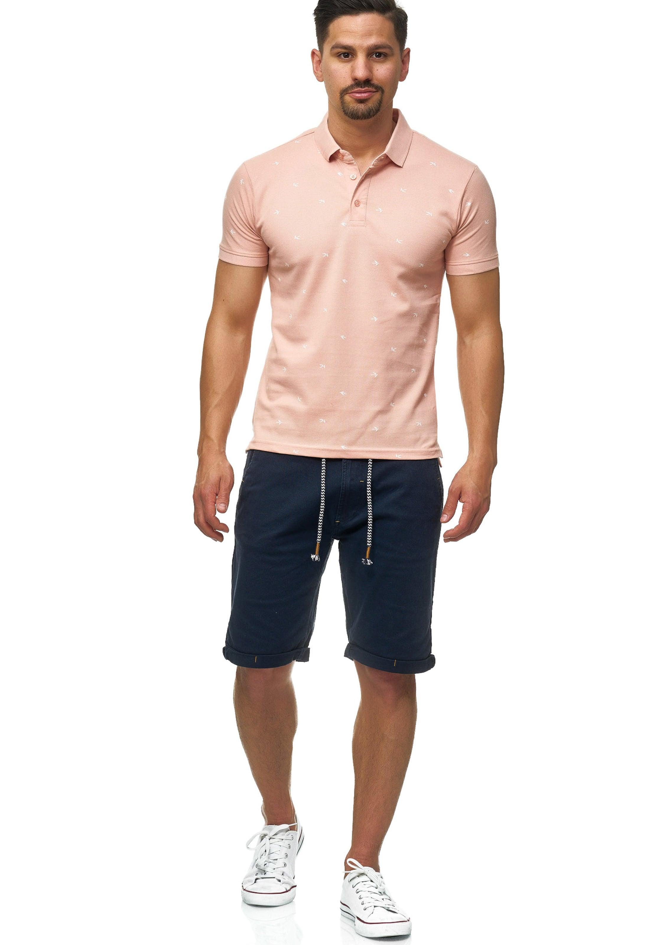 Indicode Jeans In AltrosaWeiß Polo 'hampden' cK1Fl3TJ