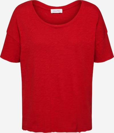 AMERICAN VINTAGE T-shirt 'SONOMA' en rouge rouille, Vue avec produit