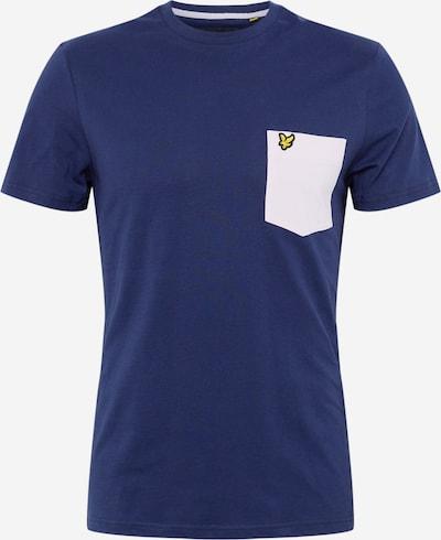 Lyle & Scott T-Shirt in dunkelblau / weiß, Produktansicht