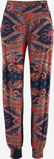 LASCANA Strandhose in marine / orange: Frontalansicht