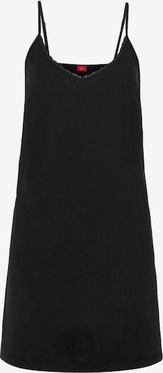 s.Oliver Koszula nocna w kolorze czarnym, Podgląd produktu